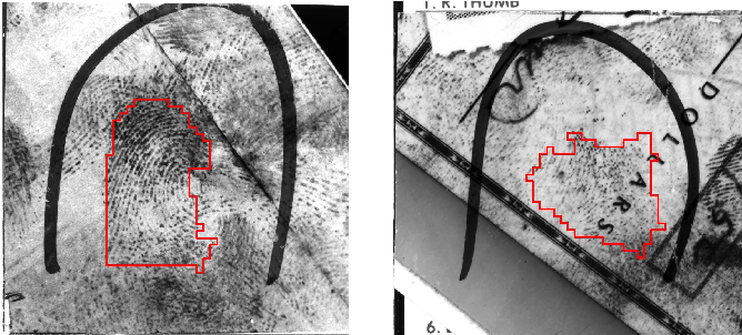 Figure 4 for Automated Latent Fingerprint Recognition