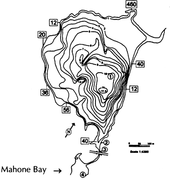 Figure 1 from Goat Lake, a warm water, estuarine refugia for