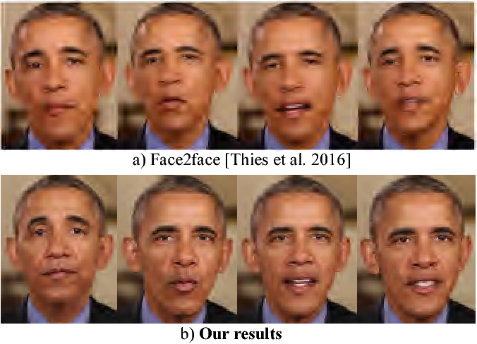 Synthesizing Obama: learning lip sync from audio - Semantic Scholar