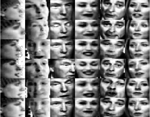 Figure 2 for Image Set based Collaborative Representation for Face Recognition