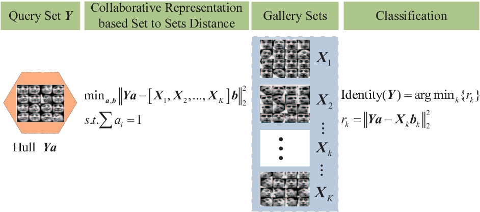 Figure 1 for Image Set based Collaborative Representation for Face Recognition