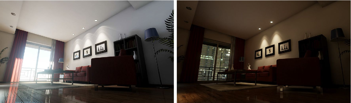 Figure 1 for UnrealROX: An eXtremely Photorealistic Virtual Reality Environment for Robotics Simulations and Synthetic Data Generation