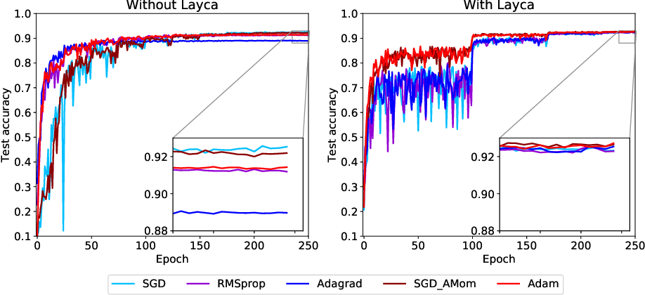 Figure 4 for On layer-level control of DNN training and its impact on generalization