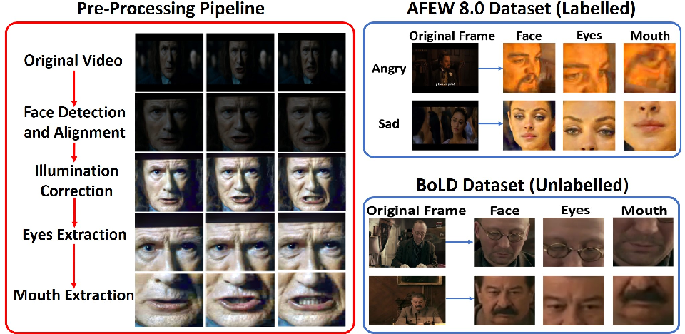 Figure 1 for Noisy Student Training using Body Language Dataset Improves Facial Expression Recognition