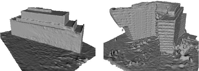 Figure 4 for Geometric Abstraction from Noisy Image-Based 3D Reconstructions