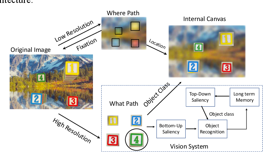 Figure 3 for Unsupervised Foveal Vision Neural Networks with Top-Down Attention