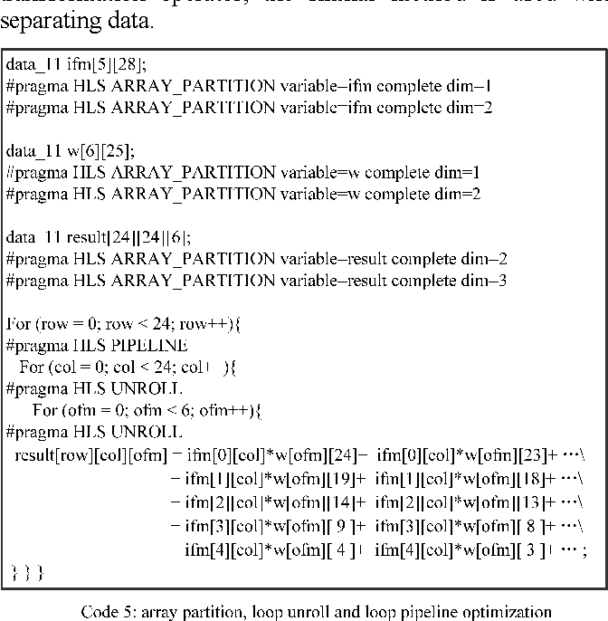 Table II from An FPGA-based accelerator implementation for deep
