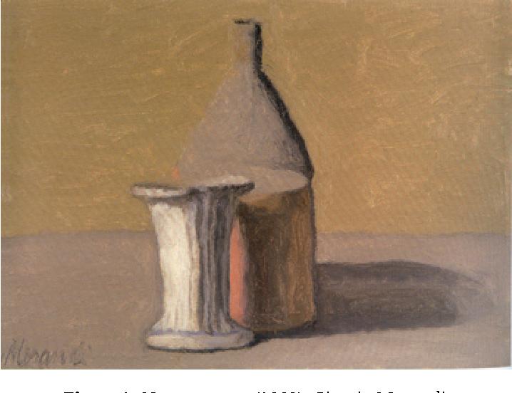 Figure 1. Natura morta (1960), Giorgio Morandi.