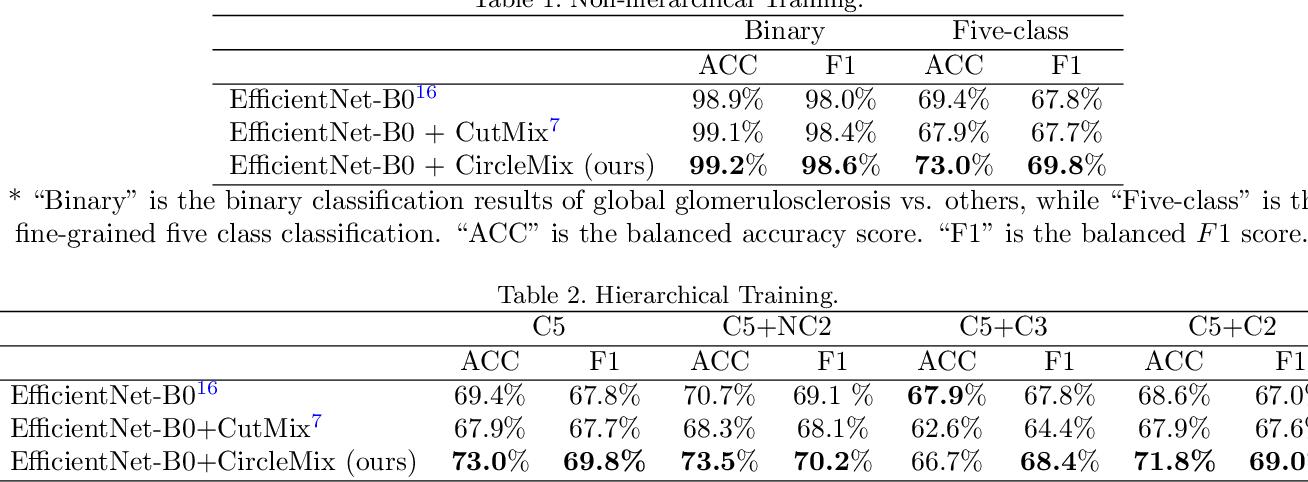 Figure 3 for Improve Global Glomerulosclerosis Classification with Imbalanced Data using CircleMix Augmentation