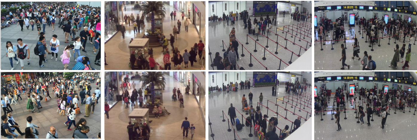 Figure 1 for Depth Information Guided Crowd Counting for Complex Crowd Scenes