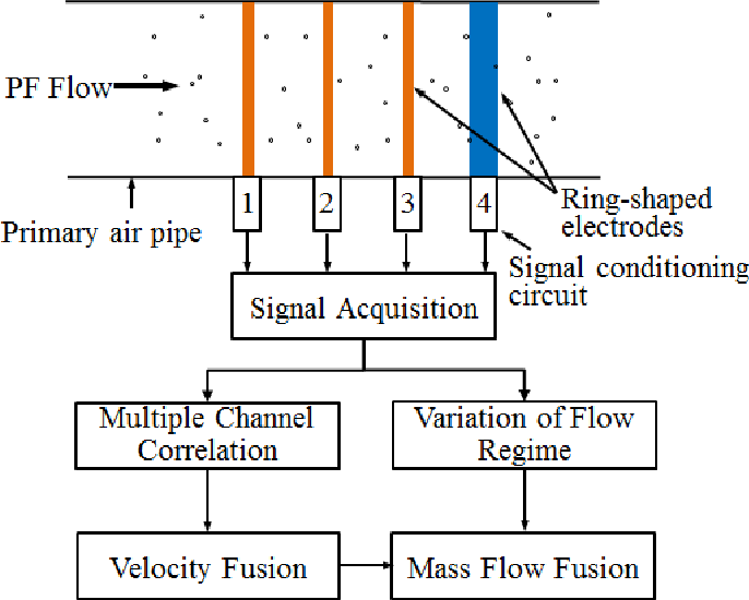 Measurement of the Mass Flow and Velocity Distributions of