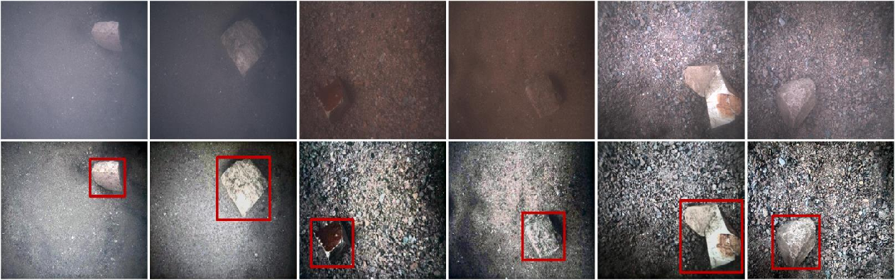 Figure 1 for A Benchmark dataset for both underwater image enhancement and underwater object detection