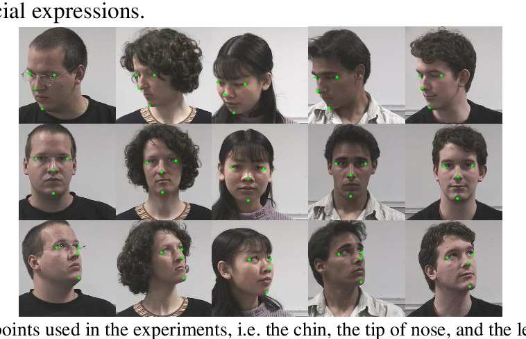 Figure 3 for A Single Image based Head Pose Estimation Method with Spherical Parameterization