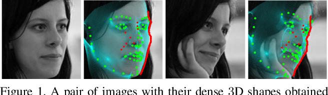 Figure 1 for Dense Face Alignment