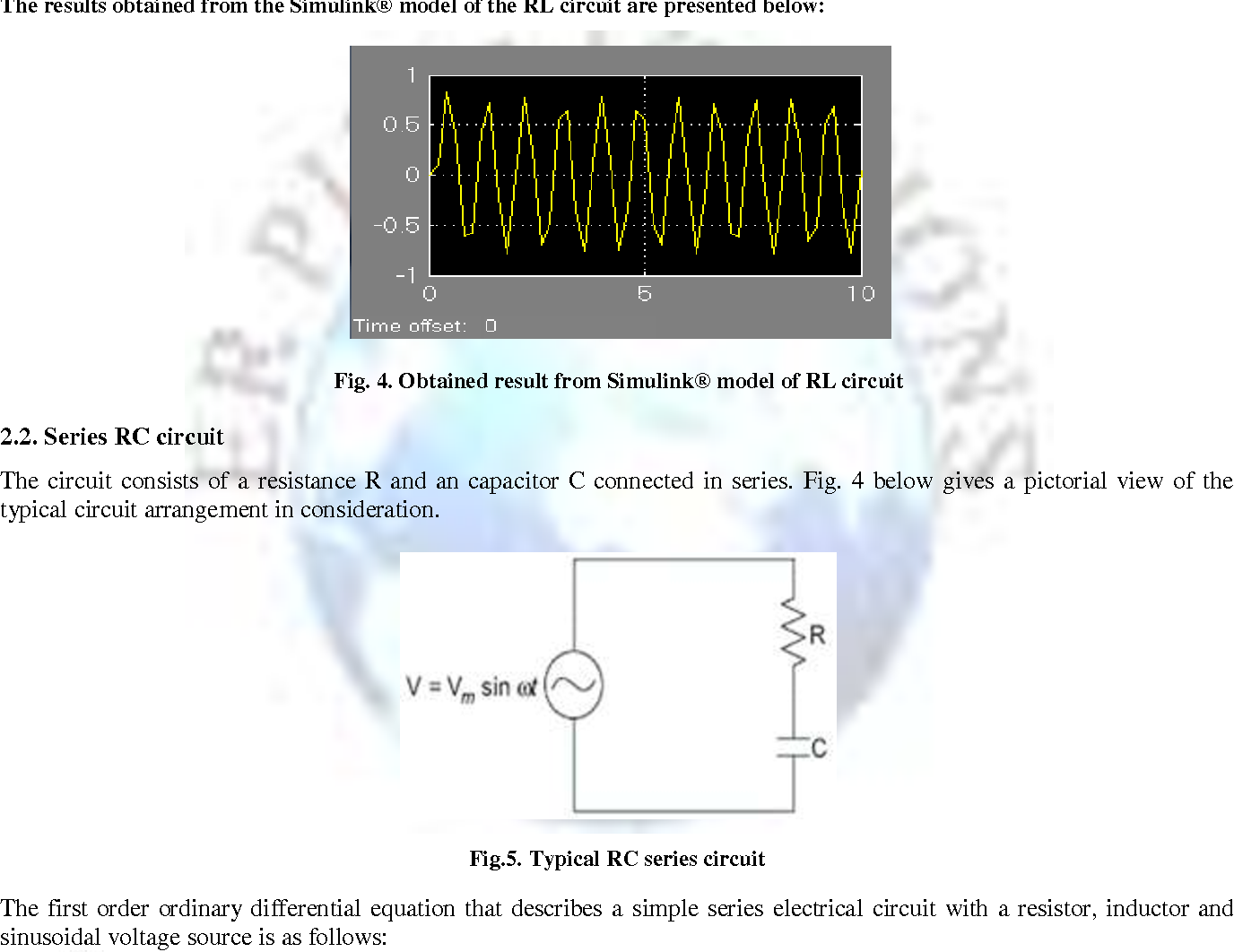 Figure 4 From Circuit Analysis Using Matlab Simulink Semantic Simple Inductor Obtained Result Model Of Rl