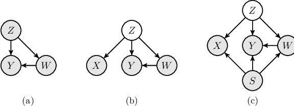 Figure 1 for A Causal Modeling Framework with Stochastic Confounders