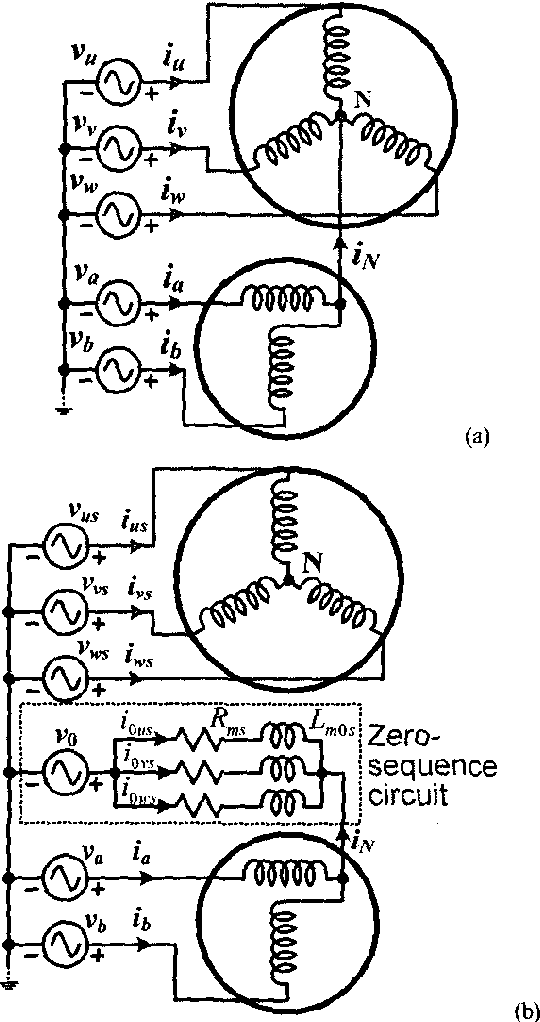 Figure 3 From A Five Leg Inverter For Driving A Traction Motor And A