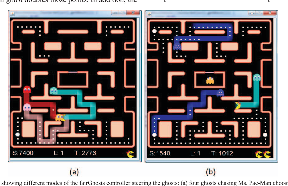 figure 1 from fairghosts ant colony controlled ghosts for ms pac