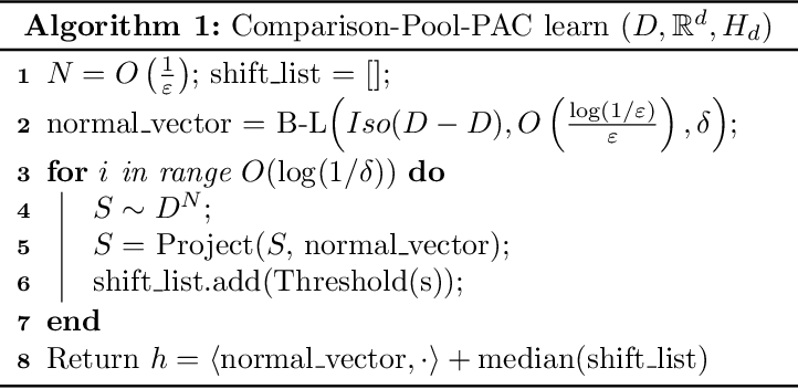 Figure 2 for The Power of Comparisons for Actively Learning Linear Classifiers