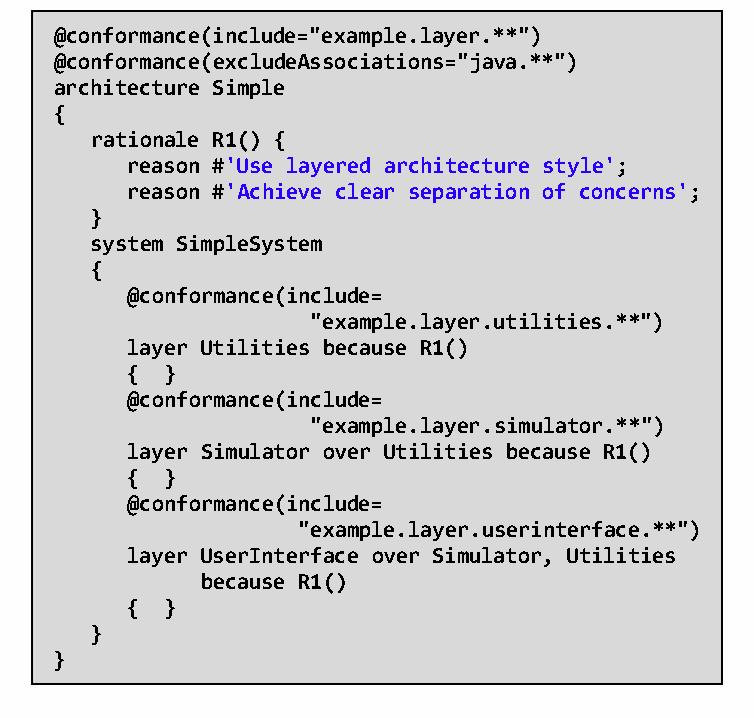 Preventing software architecture erosion through static
