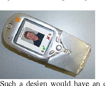 Figure 2: Andrew Monk's 2 button phone http://www.cuhtec.org.uk/resphome.html#mobile
