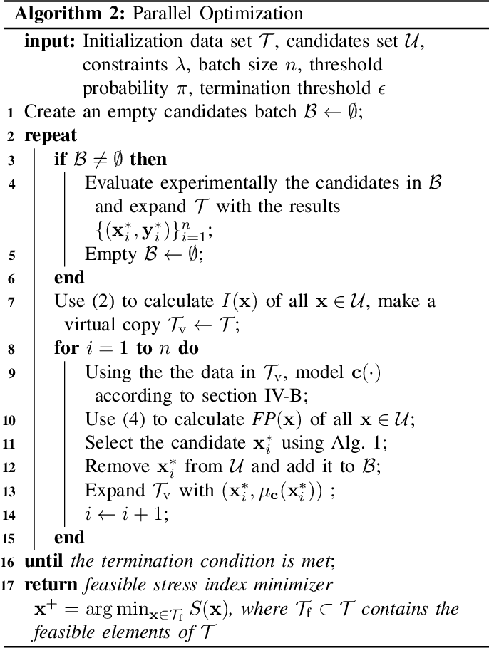 Figure 3 for Sample-efficient Plasma Spray Process Configuration with Constrained Bayesian Optimization