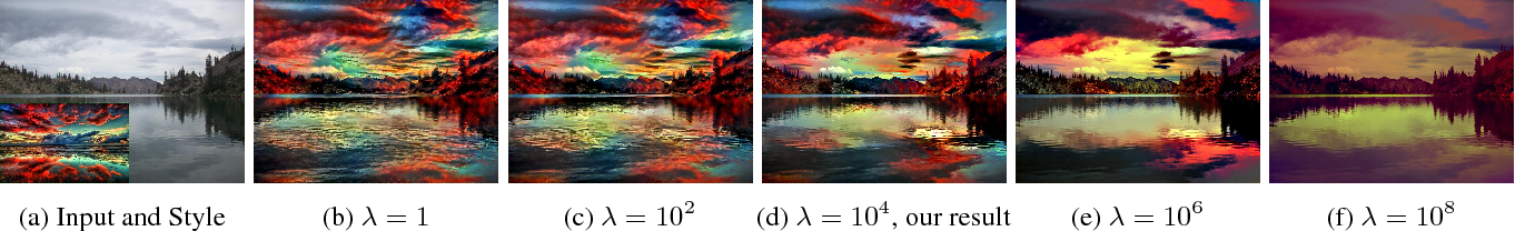 Figure 3 for Deep Photo Style Transfer