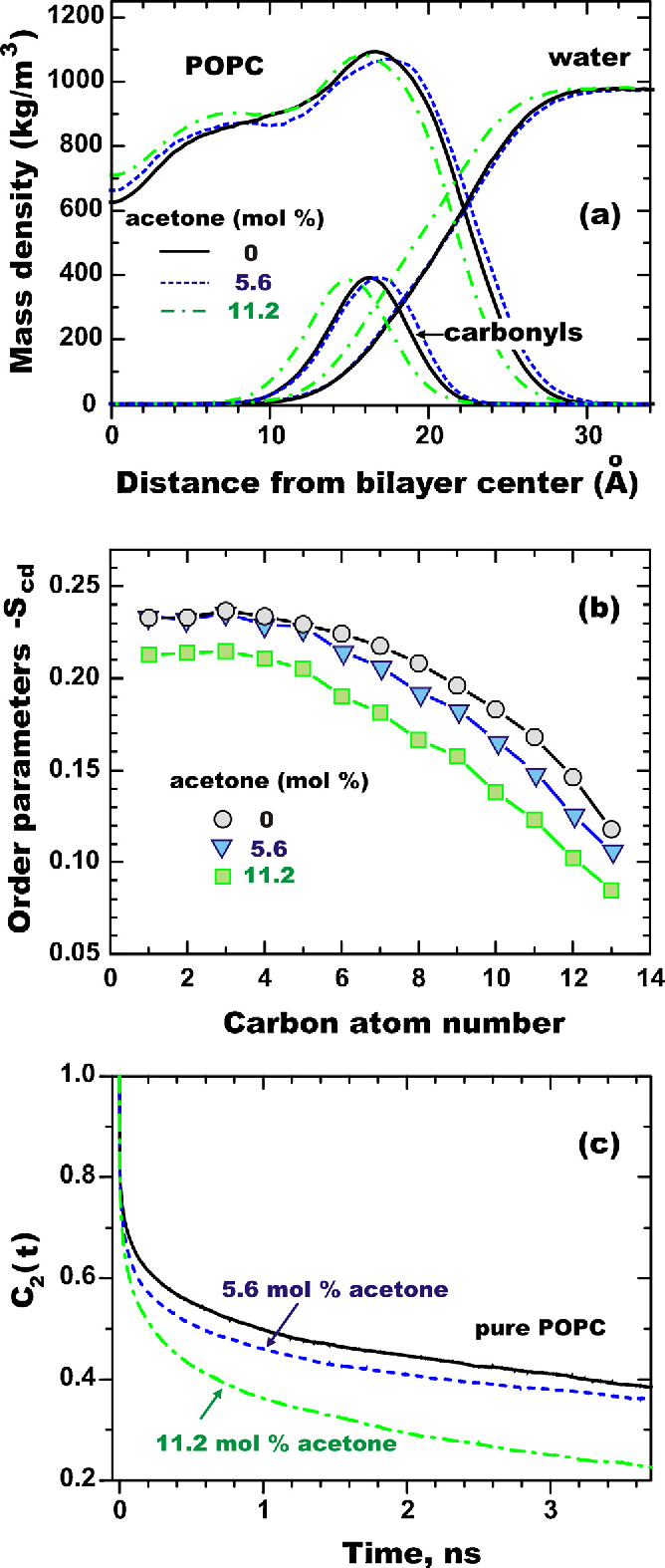 Figure 6 from ffect of acetone accumulation on structure and