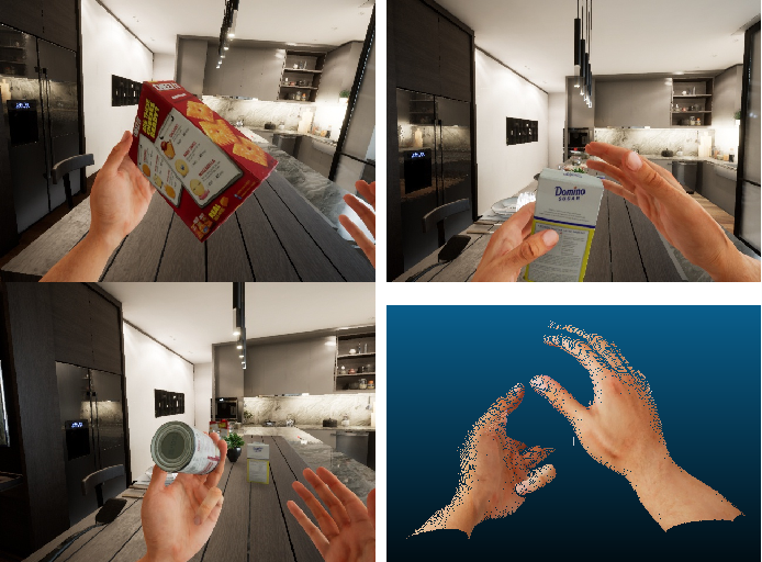 Figure 4 for UnrealROX+: An Improved Tool for Acquiring Synthetic Data from Virtual 3D Environments