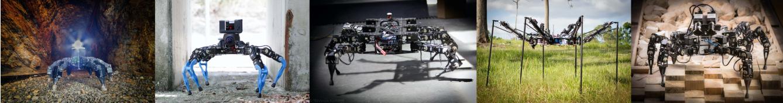 Figure 1 for OpenSHC: A Versatile Multilegged Robot Controller