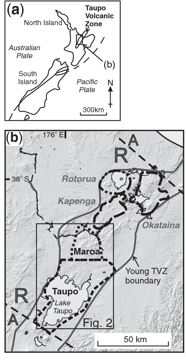 Figure 1 from Rapid Rates of Magma Generation at Contemporaneous