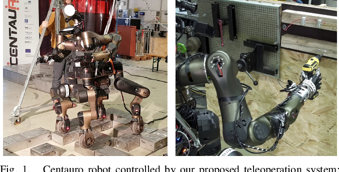 Figure 1 for Supervised Autonomous Locomotion and Manipulation for Disaster Response with a Centaur-like Robot
