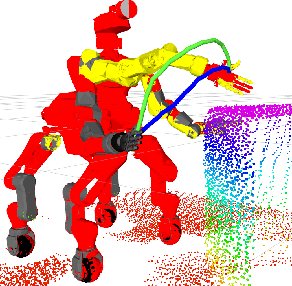 Figure 4 for Supervised Autonomous Locomotion and Manipulation for Disaster Response with a Centaur-like Robot