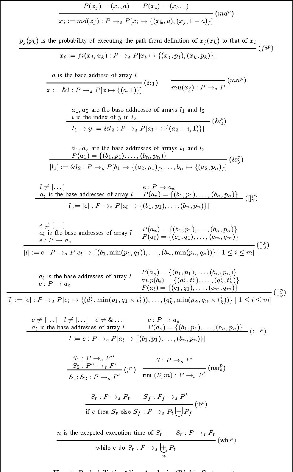 PDF] Probabilistic Alias Analysis for Parallel Programming