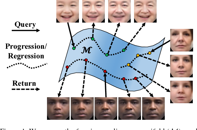 Figure 1 for Age Progression/Regression by Conditional Adversarial Autoencoder