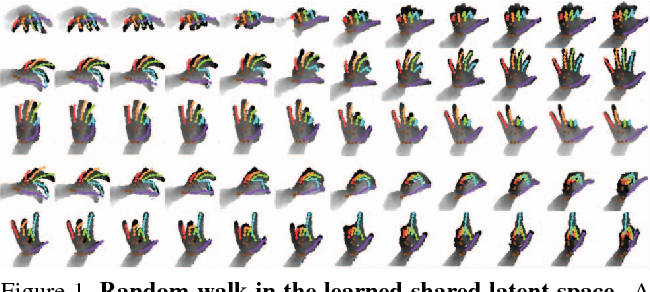 Figure 1 for Crossing Nets: Combining GANs and VAEs with a Shared Latent Space for Hand Pose Estimation