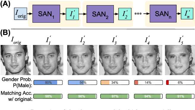 Figure 1 for FlowSAN: Privacy-enhancing Semi-Adversarial Networks to Confound Arbitrary Face-based Gender Classifiers