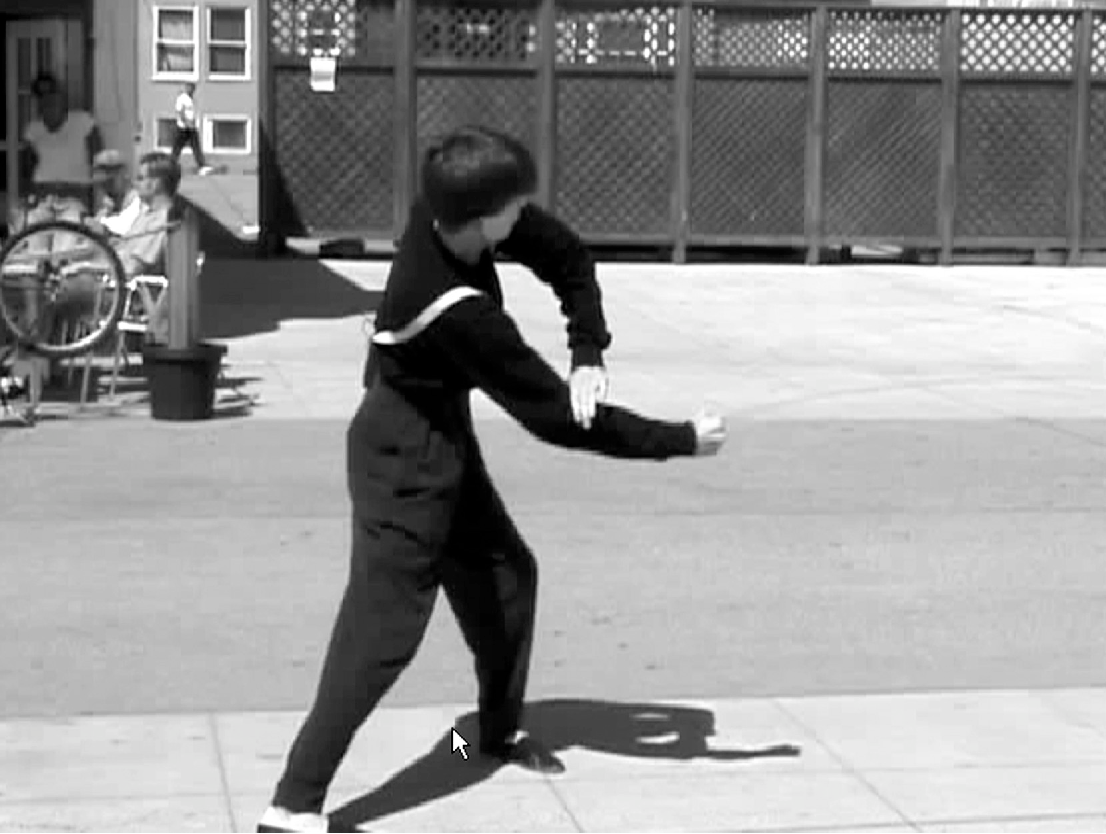 """Figure 1. Billy the Mime demonstrates his version of """"The"""