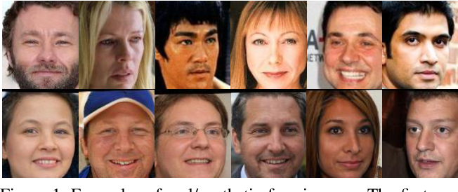 Figure 1 for SynFace: Face Recognition with Synthetic Data