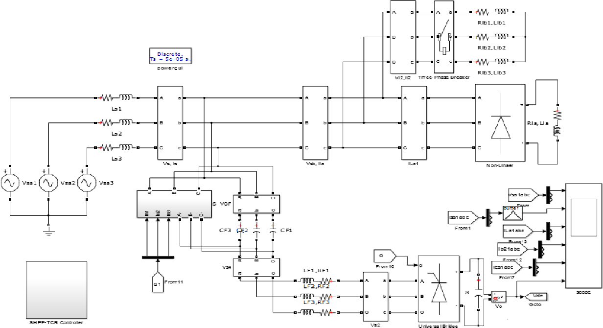 Power Quality Improvement By Using Shunt Hybrid Filter And Schematic Diagram Of Regulator Circuit Thyristor Controlled Reactor With Fuzzy Logic Controller Semantic Scholar