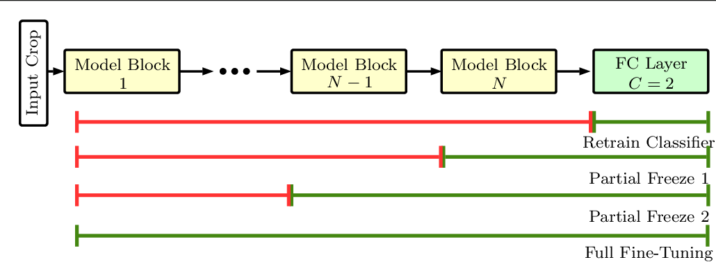 Figure 3 for Deep Transfer Learning Methods for Colon Cancer Classification in Confocal Laser Microscopy Images