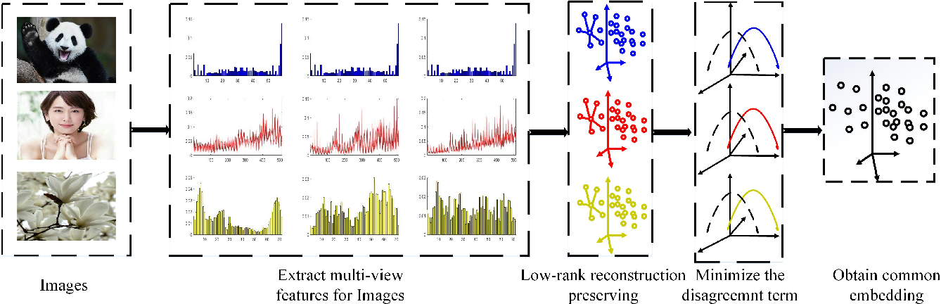Figure 1 for Multi-view Low-rank Preserving Embedding: A Novel Method for Multi-view Representation