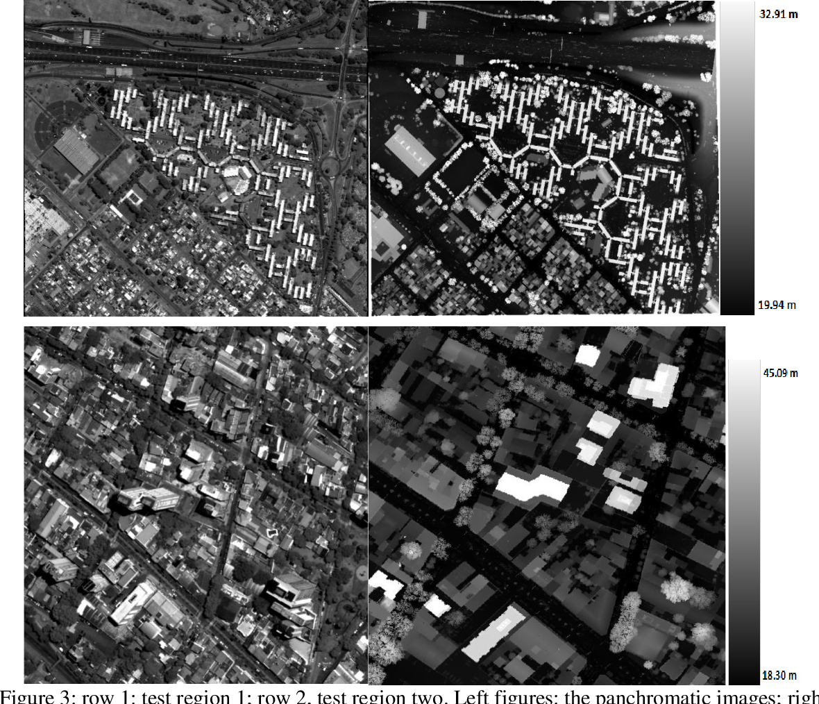 Figure 4 for Automated 3D recovery from very high resolution multi-view satellite images