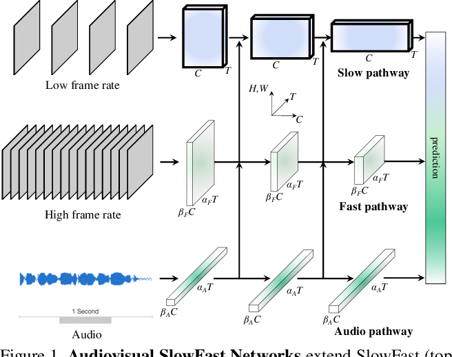 Figure 1 for Audiovisual SlowFast Networks for Video Recognition