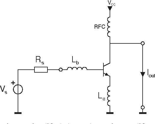 Figure 6 from HF low noise amplifiers with integrated transformer