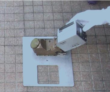 Figure 3. Quick emissivity measurement instrument