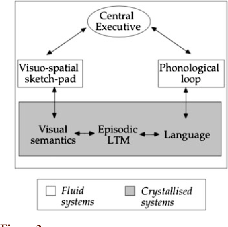 Figure 2 A modification of the original model to take account of the evidence of links between working memory and long-term memory (LTM).