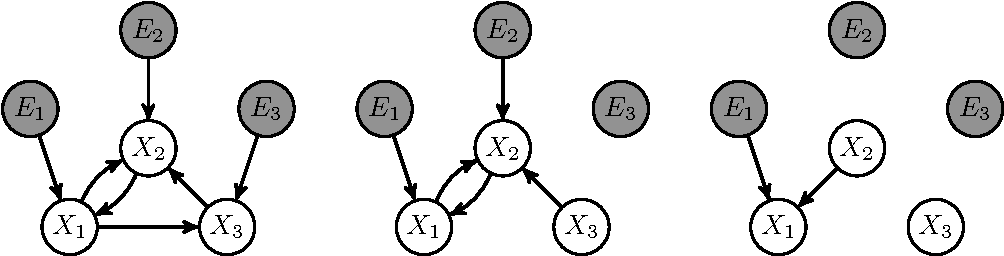Figure 1 for Theoretical Aspects of Cyclic Structural Causal Models