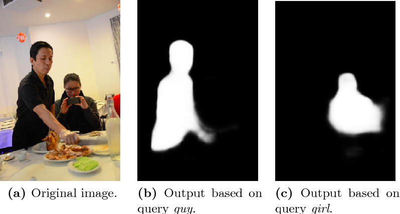 Figure 1 for Dynamic Multimodal Instance Segmentation guided by natural language queries