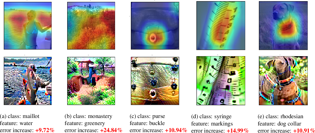 Figure 1 for Understanding Failures of Deep Networks via Robust Feature Extraction